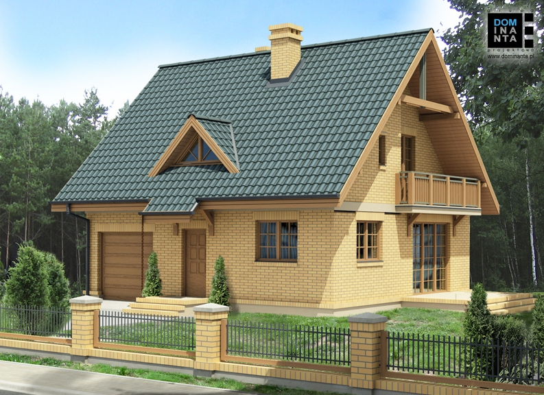 projekt domu Lolek